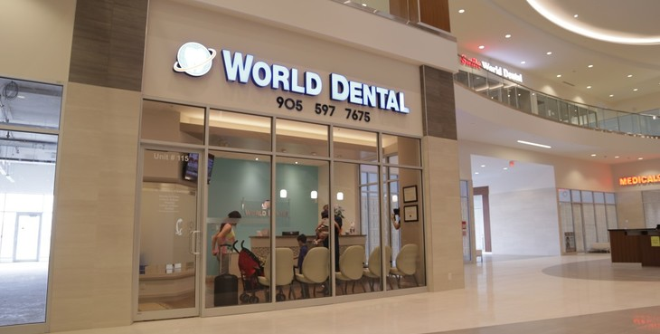 Large thornhill dentist world dental  4  th
