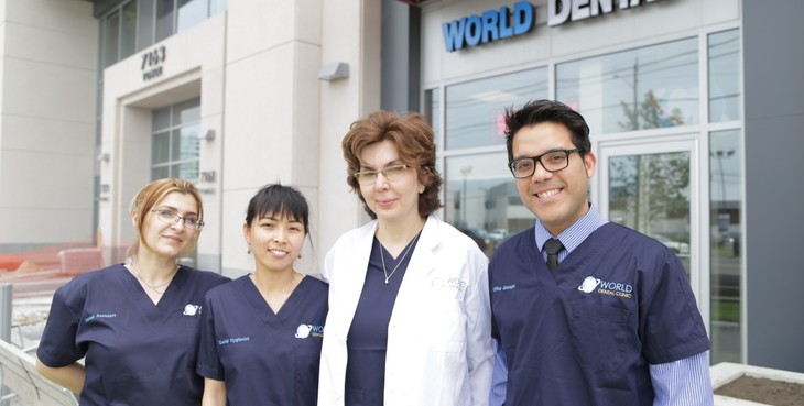 Large thornhill dentist world dental  26  th