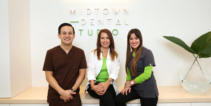 Large midtown dental studio group shot copy