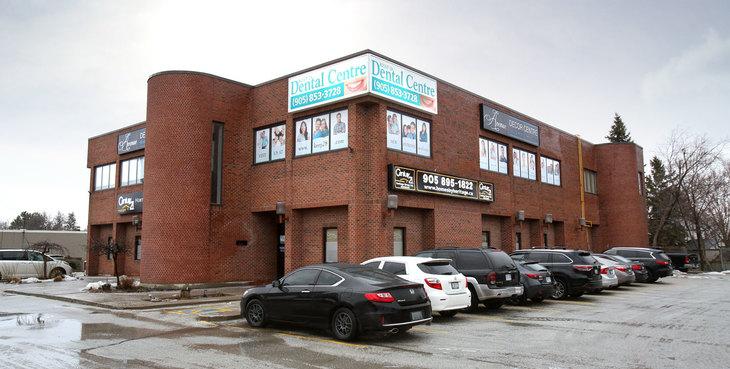 Large newmarket dentist building