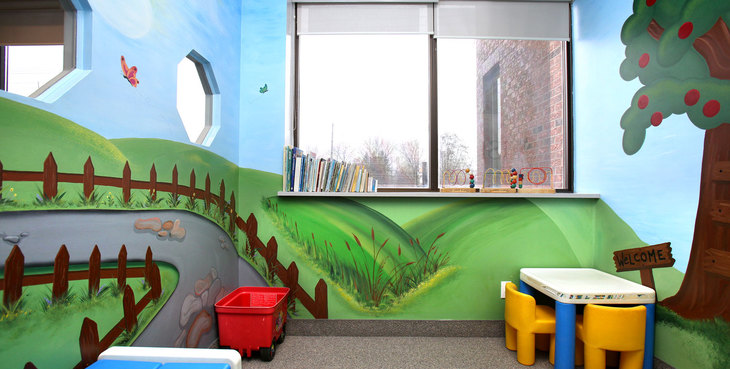Large newmarket dentist kids room